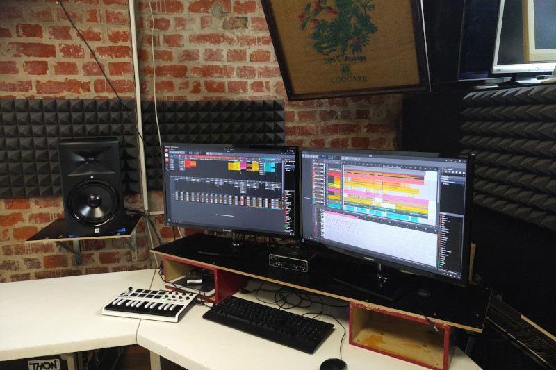 Computer im Soundlabor